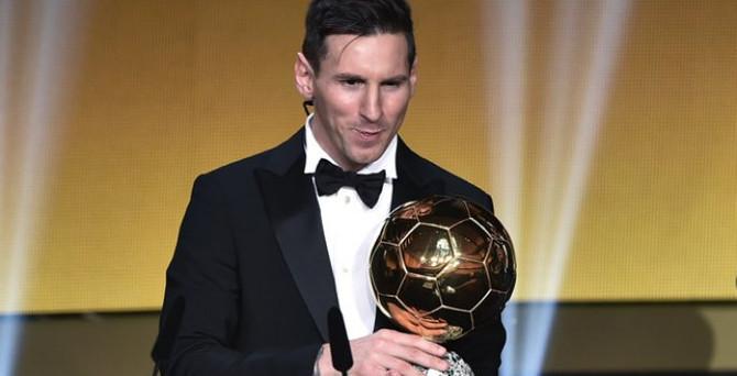 FIFA Altın Top Ödülü Messi'nin