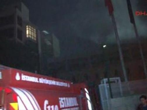 Bilgi Üniversitesi'nde yangın