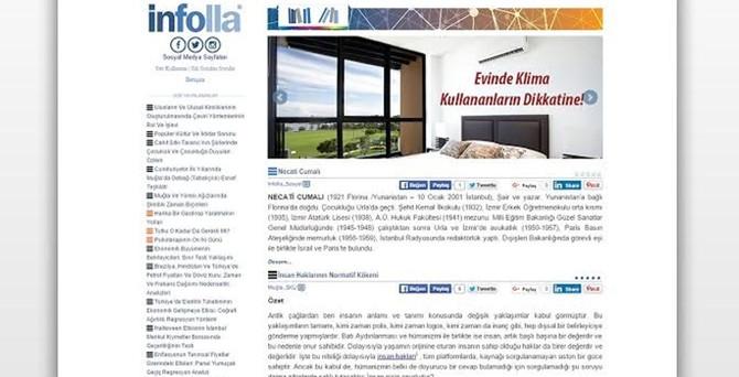 İnfolla'nın hedefi uluslararası bilgi kaynağı olmak