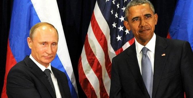 Obama, Putin ile Suriye'yi görüştü