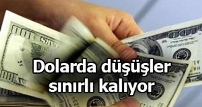 Dolarda düşüş sınırlı kalıyor