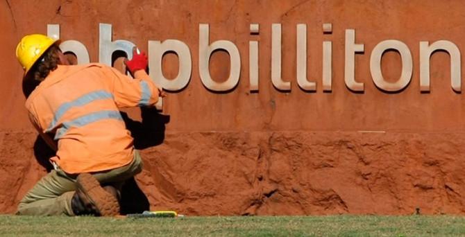 BHP Billiton, 10,5 yılın en düşük seviyesine indi
