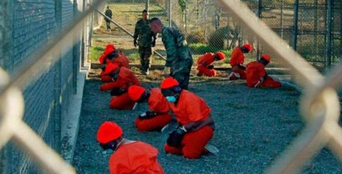 Guantanamo'daki tutuklu sayısı ilk kez 100'ün altında