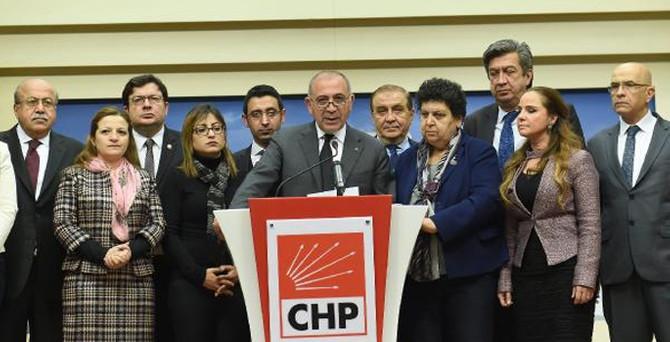 CHP'den Parti Meclisi bildirisi