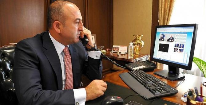 Çavuşoğlu'nun telefon diplomasisi