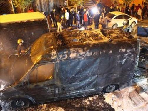 Ambulansın oksijen tüpü patladı: 1 yaralı
