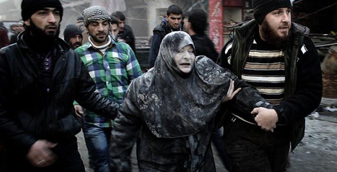 Halep'te pazar yerine saldırı: 7 ölü, 20 yaralı