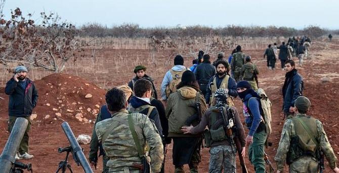 İki köyü IŞİD'ten kurtardılar