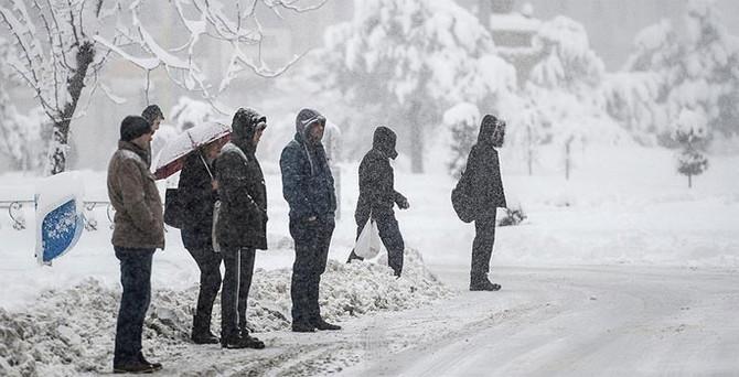 Doğu Anadolu dondu!