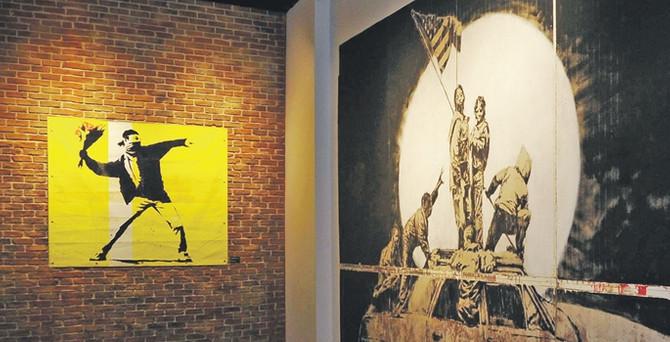 Banksy'nin şekerci dükkânı