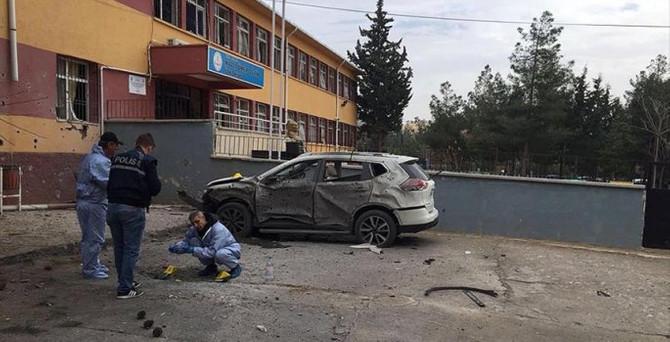 Kilis'te okulda patlama: 1 ölü, 3 yaralı