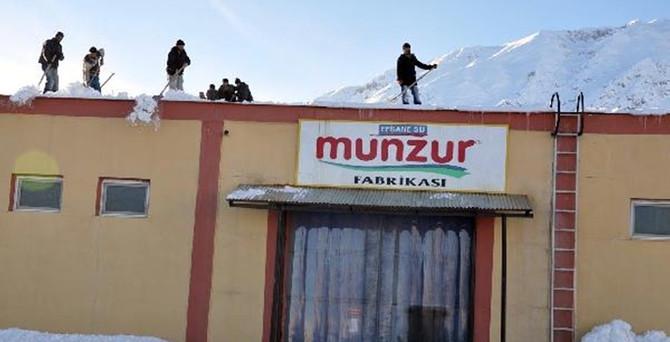 Tunceli'nin tek fabrikası tekrar üretime başladı