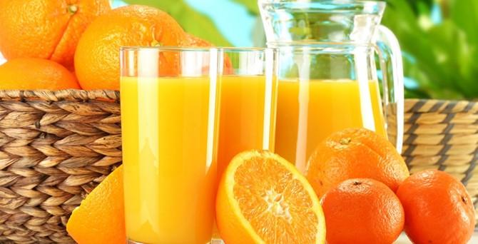 Portakal suyu ile gripten korunun