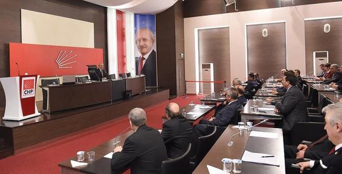 CHP'de il başkanlarına 'örgütlenme' vurgusu
