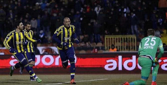 Fenerbahçe Eskişehir'de farklı