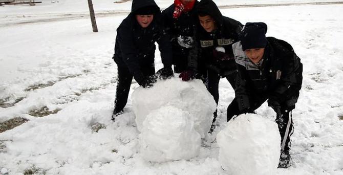 9 ilde eğitime kar ve fırtına engeli