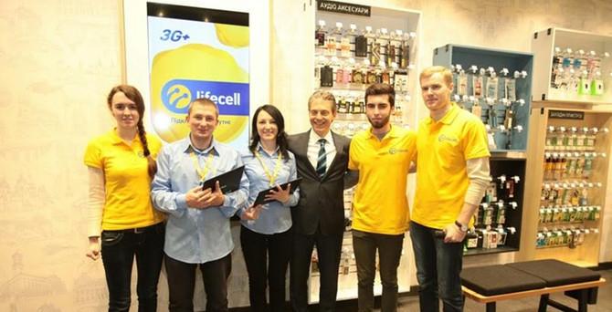 Ukrayna kaldıraç ülke oldu, Turkcell 'lifecell'e geçiş yaptı