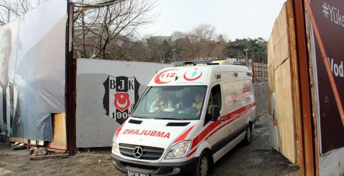 Vodafone Arena'nın inşaatında bir işçi öldü