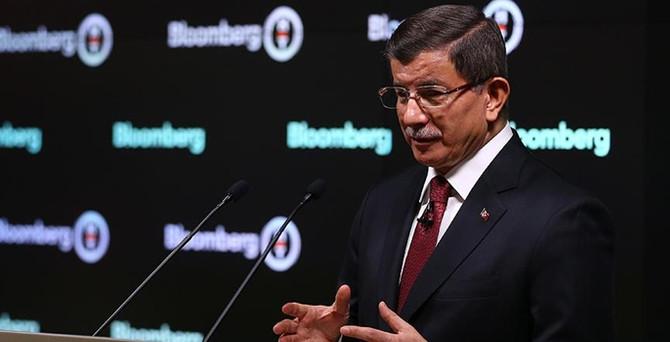 Davutoğlu, 3 milyar dolarlık projeleri anlattı