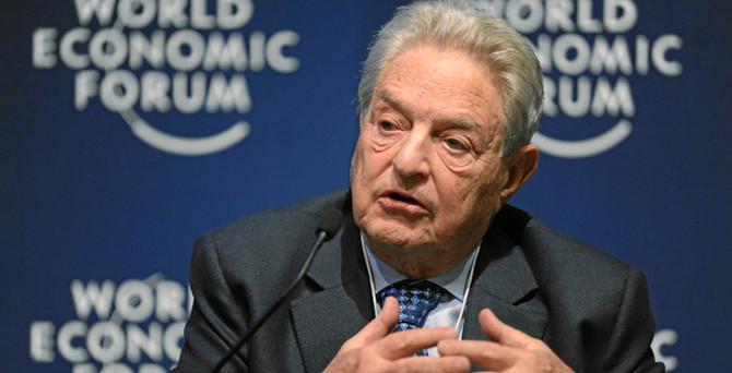 Soros: Çin ekonomisi sert inişe yöneldi