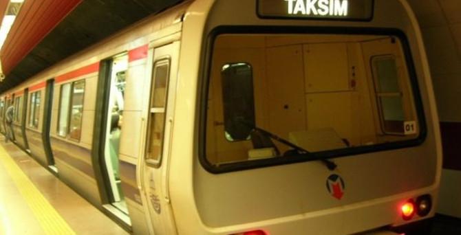 Şişli'de metro durağı 30 dakika kapatıldı