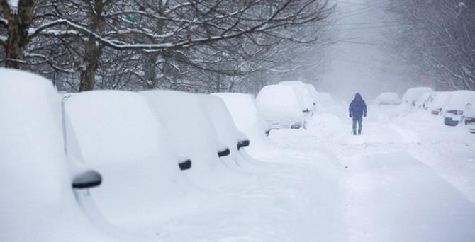 ABD'yi kar fırtınası vurdu