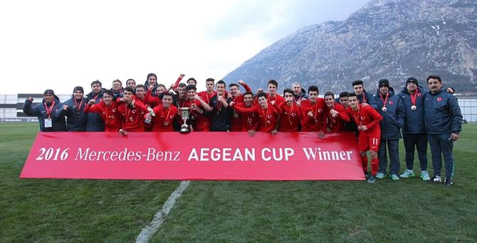 2016 Mercedes-Benz Ege Kupası'nda şampiyon Türkiye