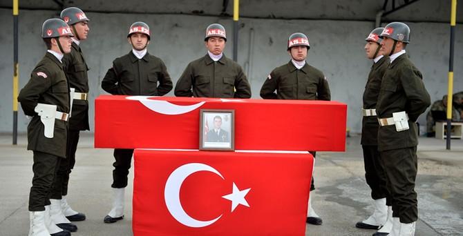 Şehit Üsteğmen Taşçı için Şırnak'ta tören düzenlendi