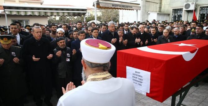 İstanbul'da şehide son görev