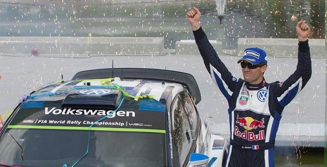 Monte Carlo'da zafer son şampiyon Ogier'in