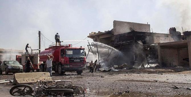 Kamışlı'da bombalı saldırı: 5 ölü