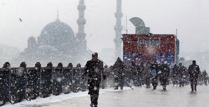 Kar, İstanbul'u ne zaman terk edecek?
