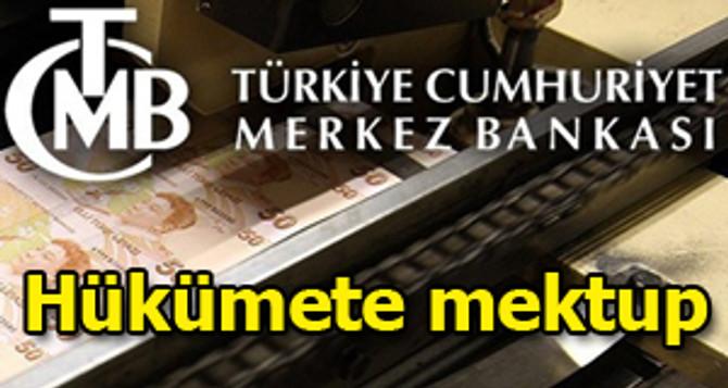 Merkez Bankası'ndan hükümete mektup