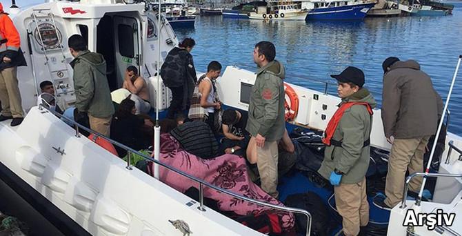 Ege'de sığınmacı teknesi battı: 3'ü çocuk 4 ölü