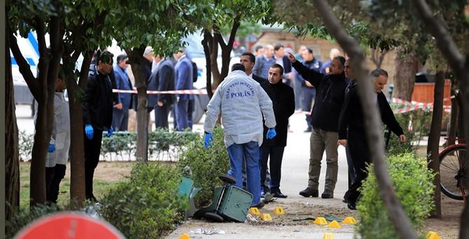 Antalya'da çöp bidonunda patlama