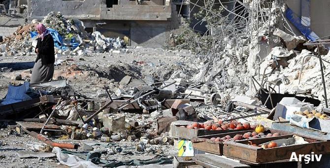 İdlib'de pazar yerine saldırı: 9 ölü