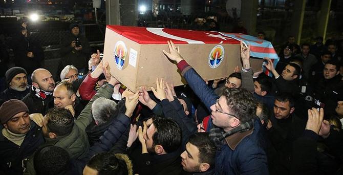 Küçük'ün cenazesi İstanbul'a getirildi