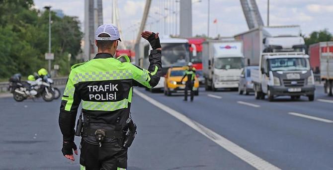 İstanbul'da trafikte ceza yağdı!