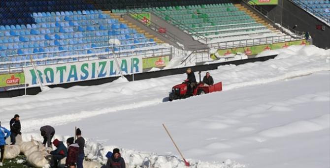 Çaykur Rizespor-Mersin İdmanyurdu maçı Trabzon'da