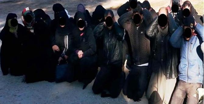 22'si çocuk 43 IŞİD'li yakalandı