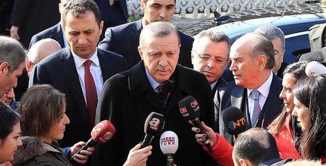 Erdoğan: Meclis'te yemin etmeden görüşme olmaz