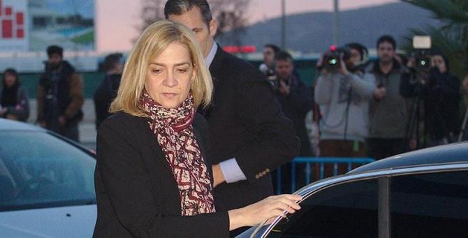 İspanya Prensesi sanık koltuğundan kurtulamadı