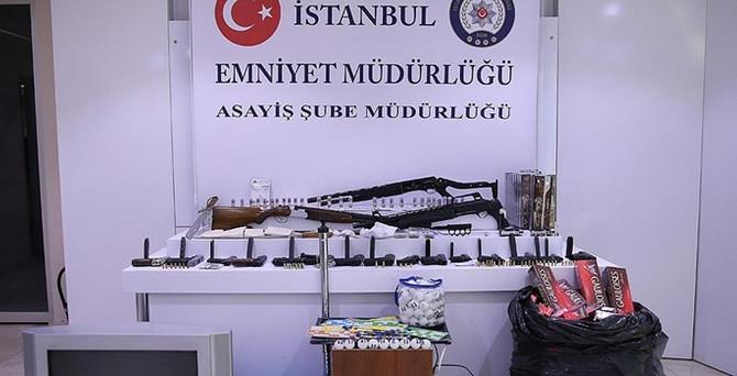 İstanbul'da huzur operasyonu: 192 gözaltı