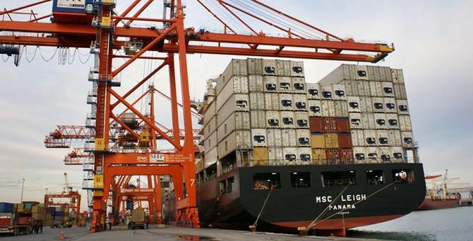 Suriye'ye Mersin'den 121 milyon dolarlık ihracat