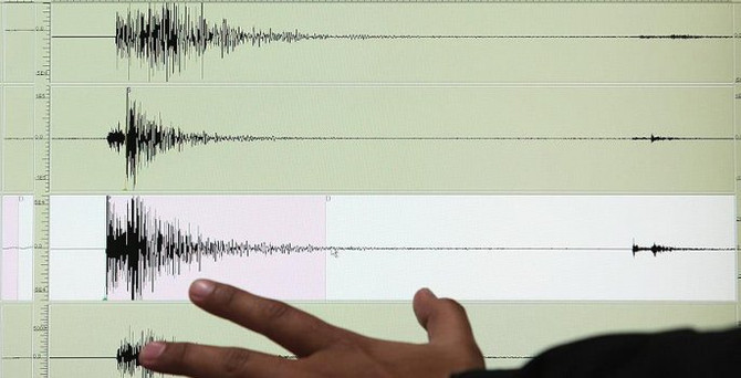Okyanusta 7.4 büyüklüğünde deprem