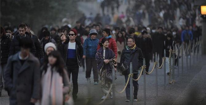 Japonya nüfusu eriyor