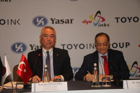 Yaşar Holding ile Toyo Ink Group ortaklığı sağlandı