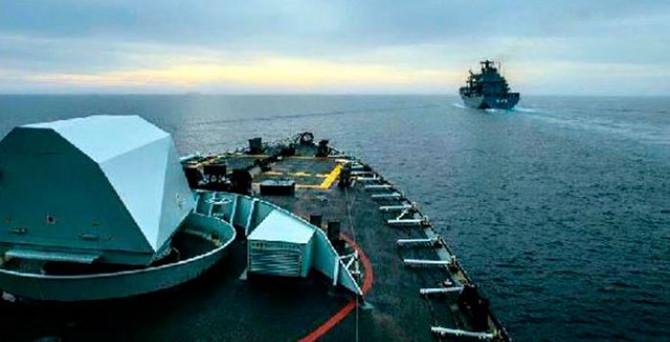 NATO gemileri Ege'de göreve başladı