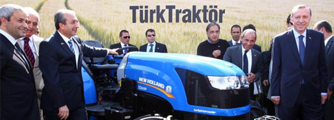 Başbakan istedi, Koç 7 traktör hediye etti