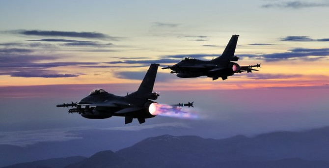 PKK hedeflerine hava harekatı